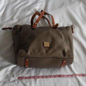 Dooney & Bourke Medium Satchel Pebbled Handbag